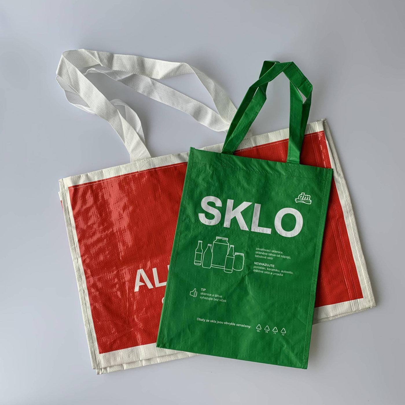 Velikost i tvar tašky je na vás.