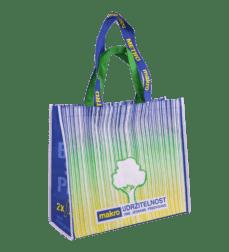 R-PET NON-WOVEN netkané tašky
